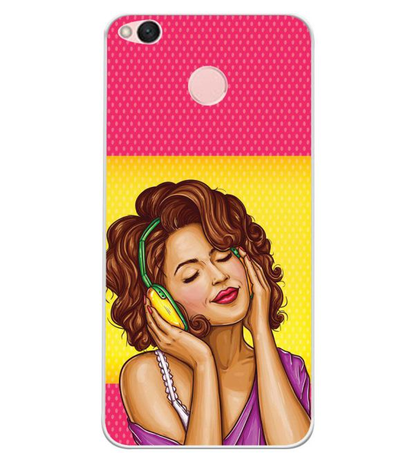 huge discount 8b84c 16856 Music Girl Soft Silicone Back Cover for Xiaomi Redmi 4 : 4X