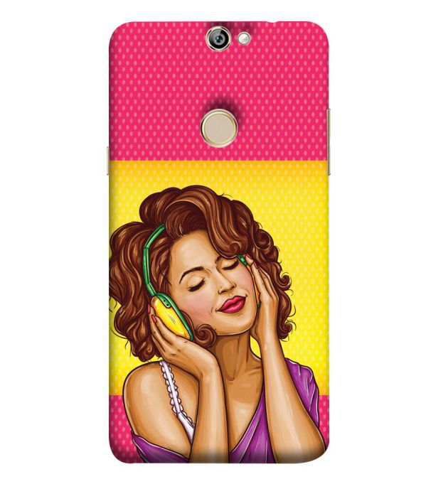Music Girl Back Cover for Coolpad Max A8
