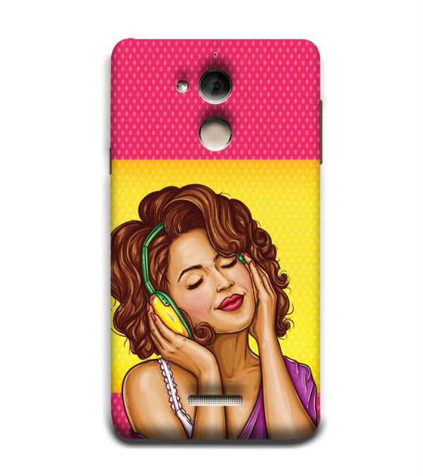 Music Girl Back Cover for Coolpad Note 5