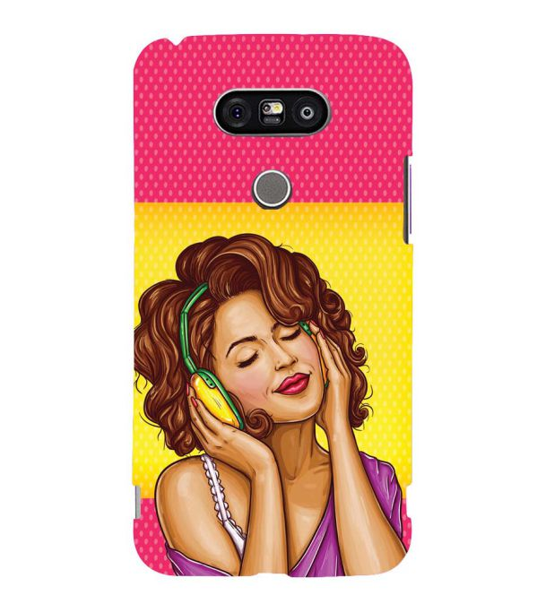 Music Girl Back Cover for LG G5