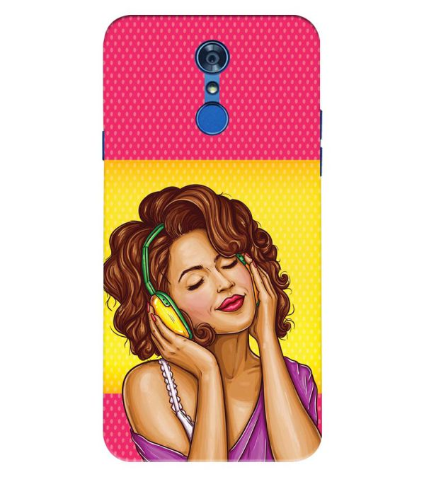 Music Girl Back Cover for LG Q7