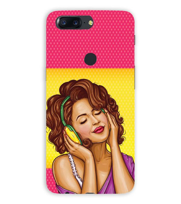 Music Girl Back Cover for OnePlus 5T