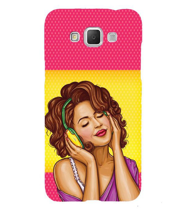 Music Girl Back Cover for Samsung Galaxy Grand Max G720