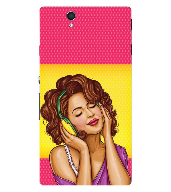Music Girl Back Cover for Sony Xperia Z