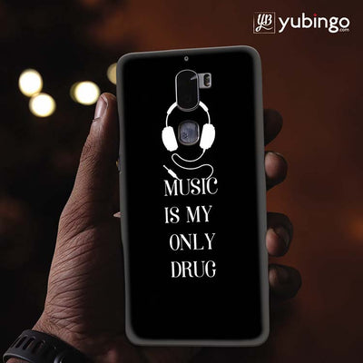 Music Is My Only Drug Back Cover for Coolpad Cool 1-Image2