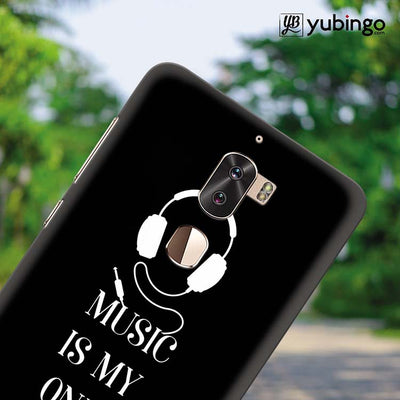 Music Is My Only Drug Back Cover for Coolpad Cool 1-Image4