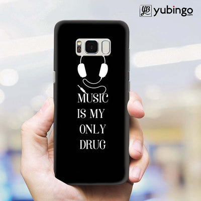 Music Is My Only Drug Back Cover for Samsung Galaxy S8 Plus-Image2