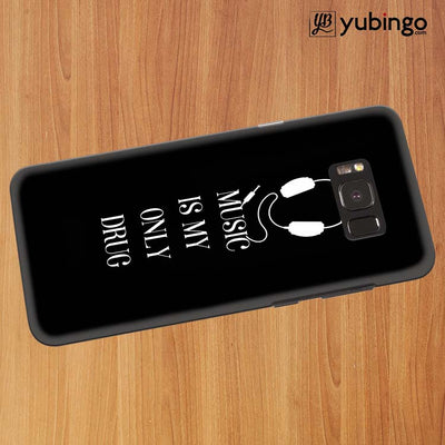 Music Is My Only Drug Back Cover for Samsung Galaxy S8 Plus-Image3