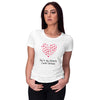 My Favorite Cardio Women T-Shirt-White