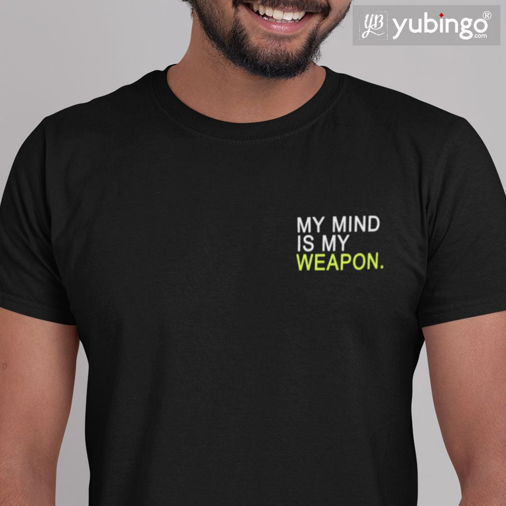 My Mind is My Weapon T-Shirt-White