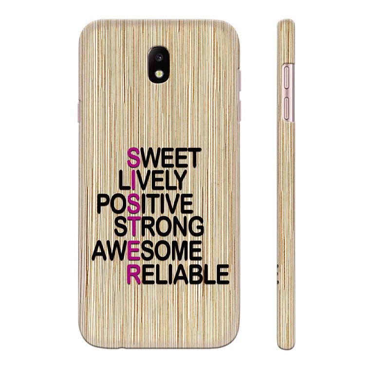 newest collection 64c13 c5673 My Sister is Awesome Back Cover for Samsung Galaxy J7 Max