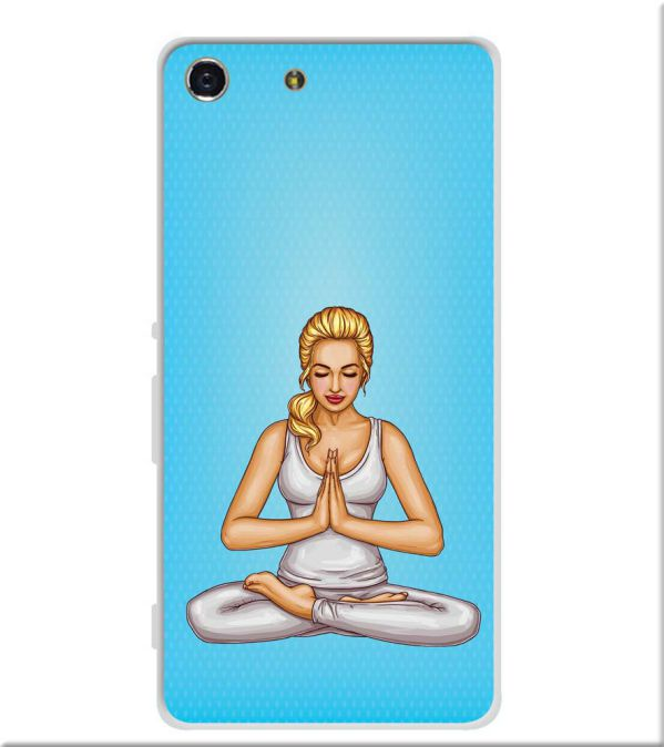 Namaste Soft Silicone Back Cover for Sony Xperia M5
