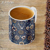 Nautical Blue Customised Alphabet Coffee Mug-Image4