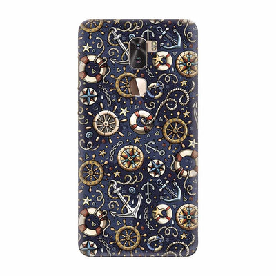 Nautical Blue Back Cover for Coolpad Cool 1