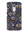 Nautical Blue Back Cover for Lenovo Vibe X3