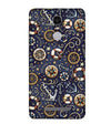 Nautical Blue Back Cover for Xiaomi Redmi Note 4 (2017 Edition)