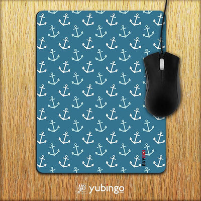 Nautical Pattern Mouse Pad-Image2