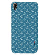 Nautical Pattern Back Cover for HTC Desire 828