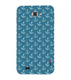 Nautical Pattern Back Cover for Samsung Galaxy Note N7000