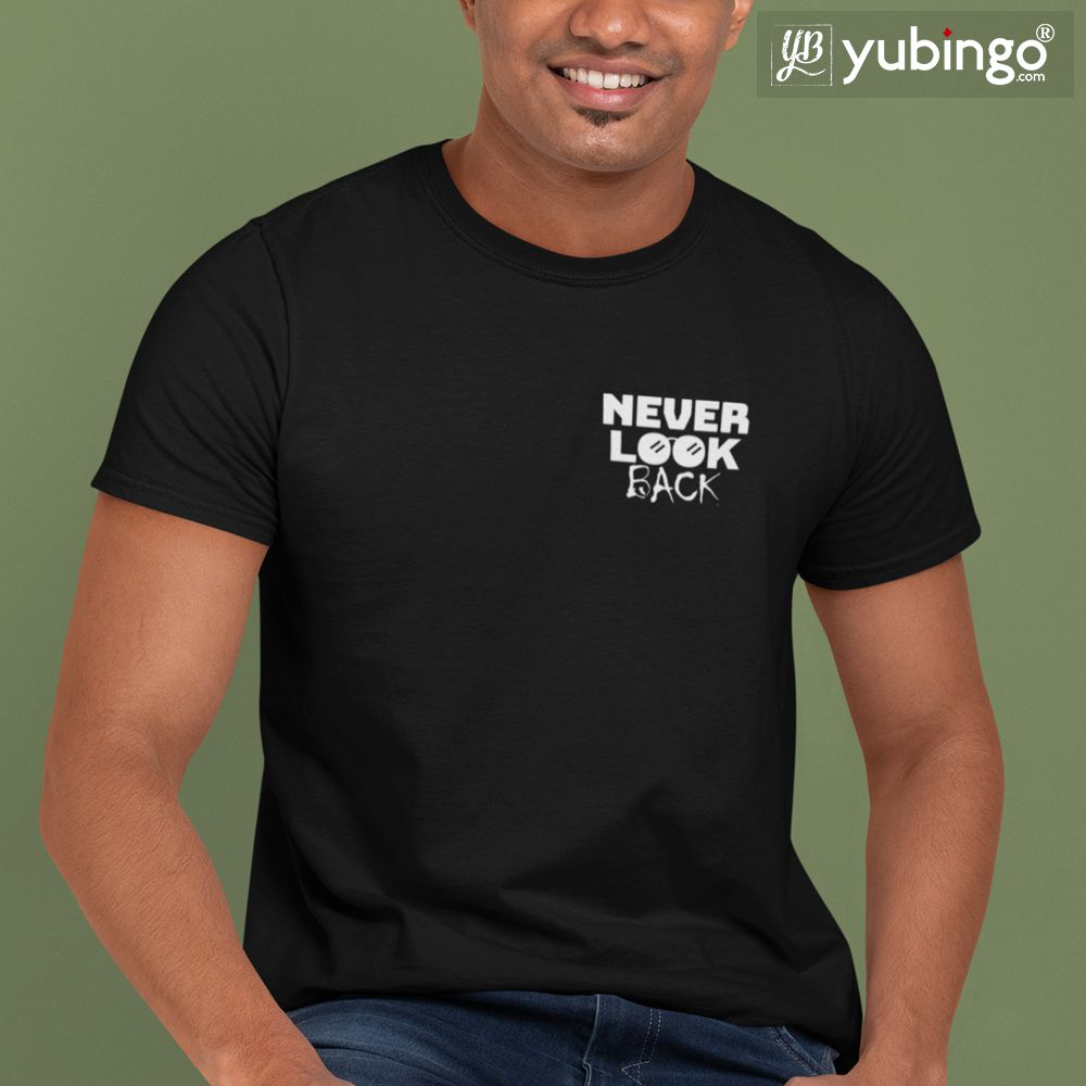 Never Look Back Ever T-Shirt-White