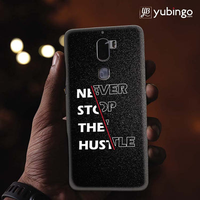 Never Stop Hustle Back Cover for Coolpad Cool 1-Image2