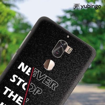 Never Stop Hustle Back Cover for Coolpad Cool 1-Image4