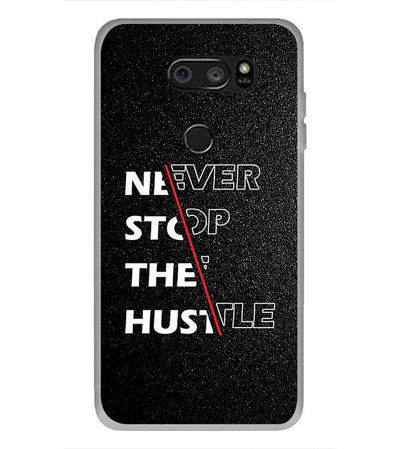 Never Stop Hustle Back Cover for LG V30 Plus-Image3