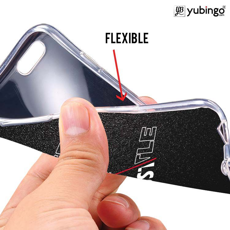 Never Stop Hustle Soft Silicone Back Cover for Intex Aqua 5.5 VR