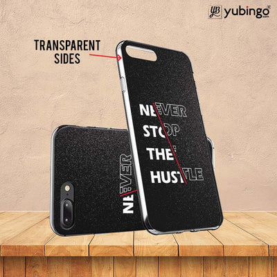 Never Stop Hustle Soft Silicone Back Cover for Vivo X21-Image3