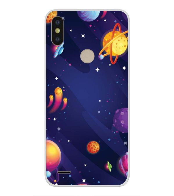 purchase cheap c1869 864f9 New Galaxy Back Cover for Tecno Camon iSky 3