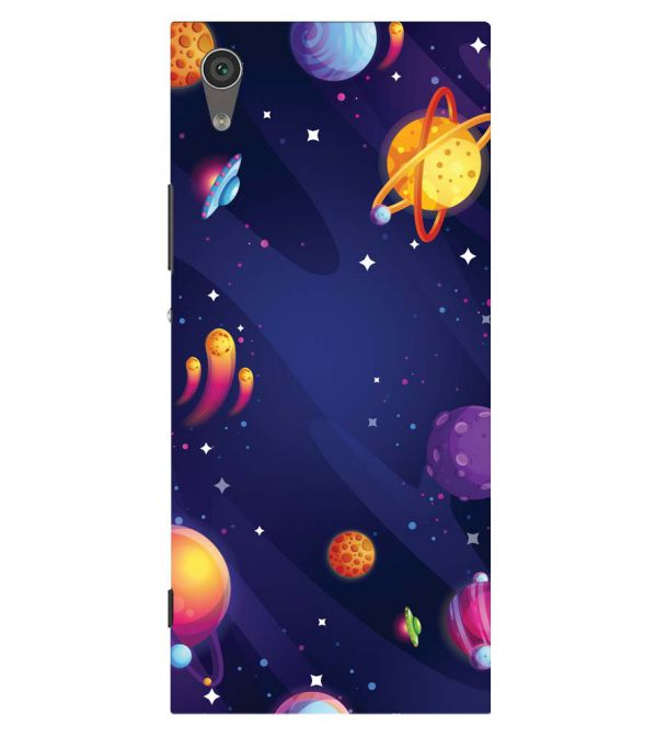 New Galaxy Back Cover for Sony Xperia XA1 Plus