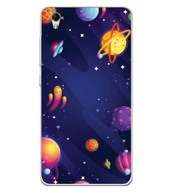 competitive price 10ce4 b79ad New Galaxy Soft Silicone Back Cover for Lava Z60