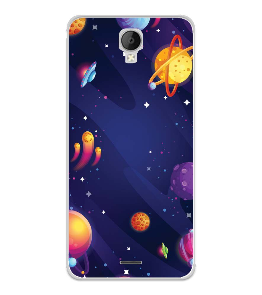 on sale fea1d a4fd8 New Galaxy Soft Silicone Back Cover for Micromax Spark Go