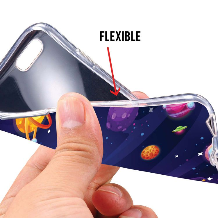New Galaxy Soft Silicone Back Cover for Mobiistar X1 Notch