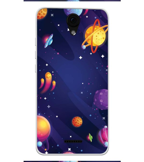 sports shoes 606e5 a2317 New Galaxy Soft Silicone Back Cover for Yu Yunique 2 Plus