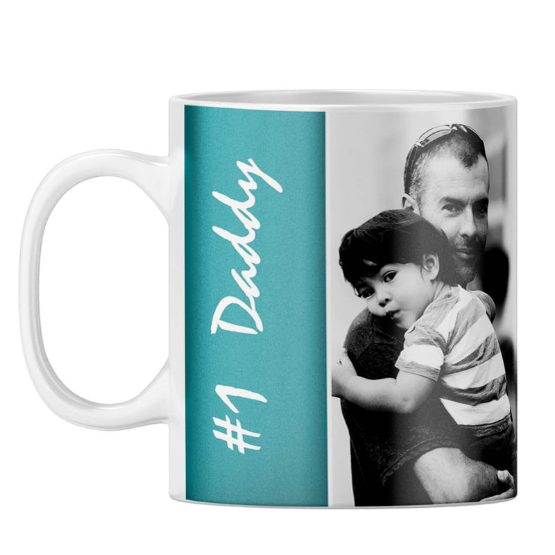 Number 1 Daddy Coffee Mug