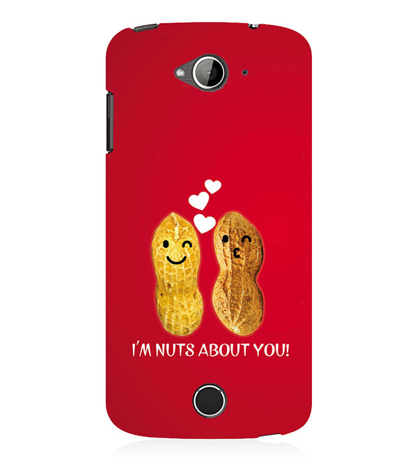 Nuts About You Back Cover for Acer Liquid Zade 530