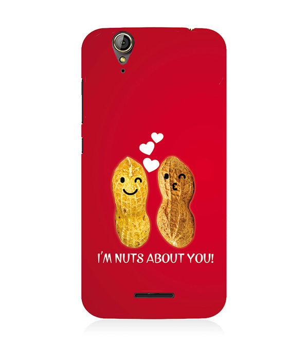 Nuts About You Back Cover for Acer Liquid Zade 630