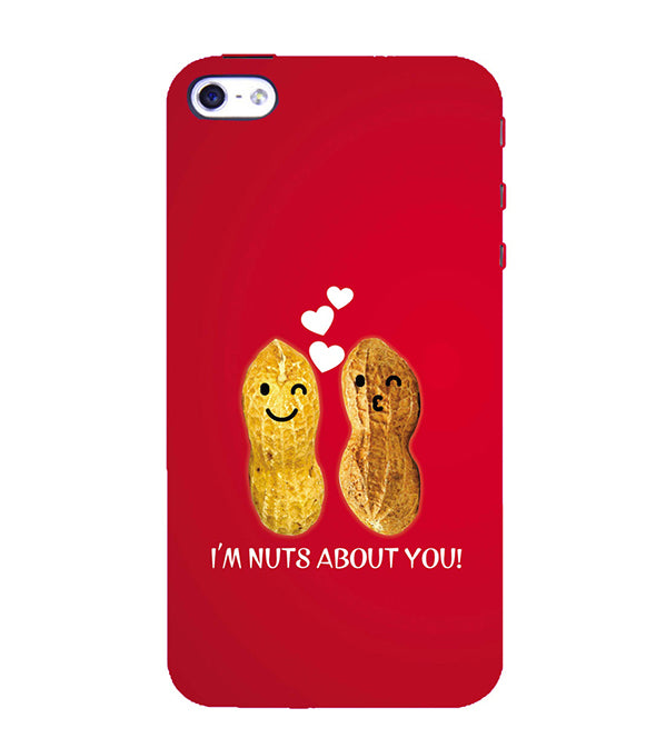 Nuts About You Back Cover for Apple iPhone 4 : 4S