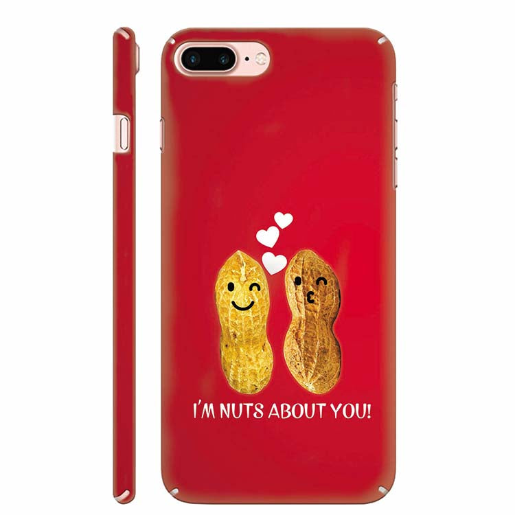 brand new 569e8 9dc84 Nuts About You Back Cover for Apple iPhone 8 Plus