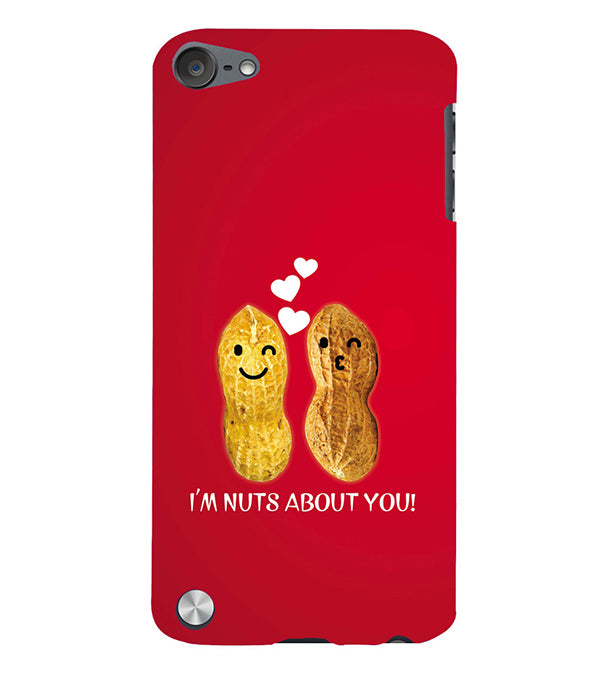 Nuts About You Back Cover for Apple iPod Touch 5