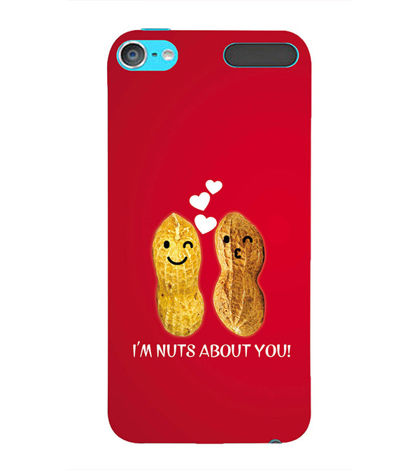 Nuts About You Back Cover for Apple iPod Touch 6