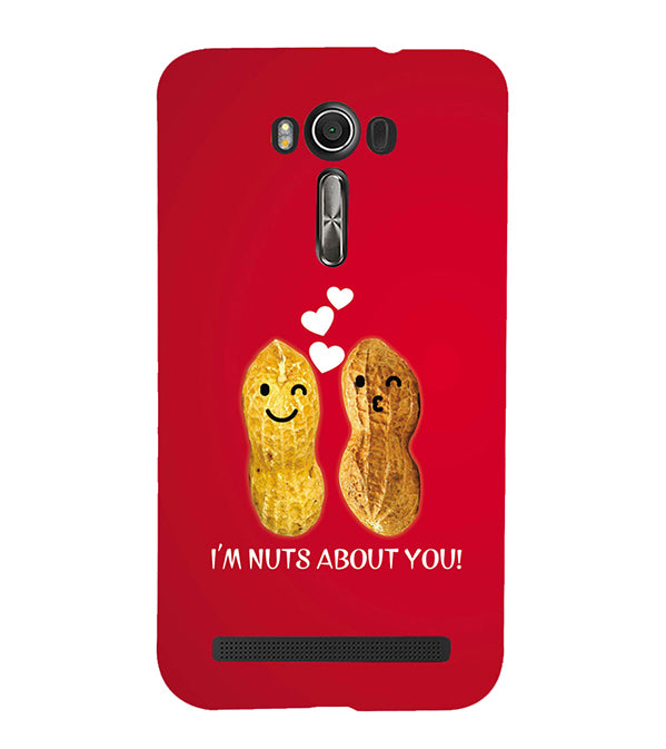 Nuts About You Back Cover for Asus Zenfone 2 Laser ZE550KL