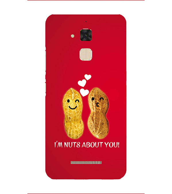 Nuts About You Back Cover for Asus Zenfone 3 Max ZC520TL