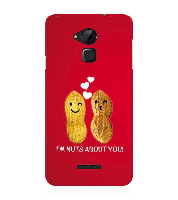 Nuts About You Back Cover for Coolpad Note 3