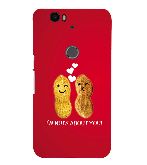 Nuts About You Back Cover for Google Nexus 6P