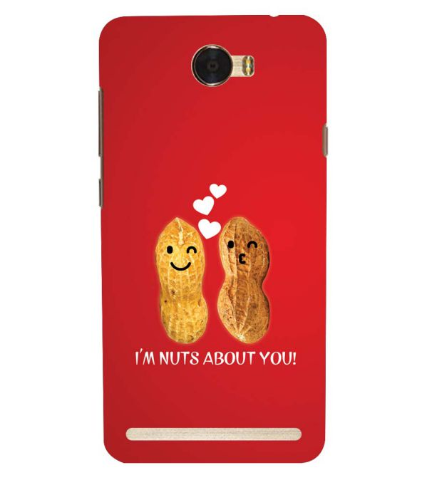 Nuts About You Back Cover for Huawei Honor Bee 2 :: Huawei Y3 2