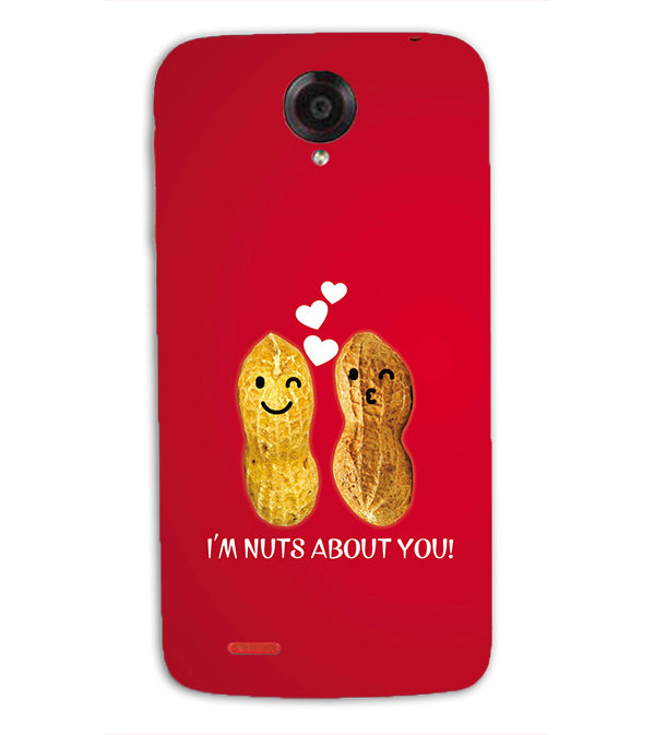 Nuts About You Back Cover for Lenovo S820