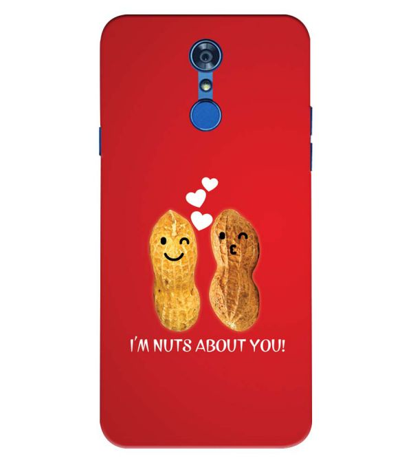 Nuts About You Back Cover for LG Q7