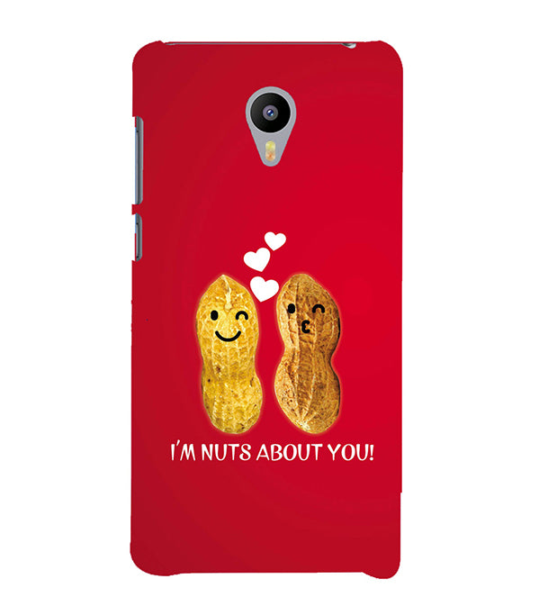 Nuts About You Back Cover for Meizu M3 Note